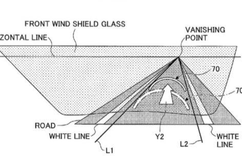 Công nghệ kính chắn gió tăng cường thực tế ảo động của Toyota