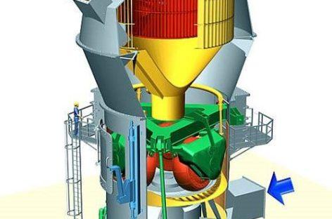Giới thiệu máy nghiền liệu đứng Pfeiffer MBS trong sản xuất xi măng