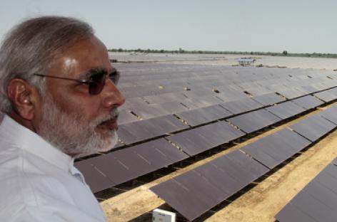 Năng lượng mặt trời – cứu tinh của Ấn Độ