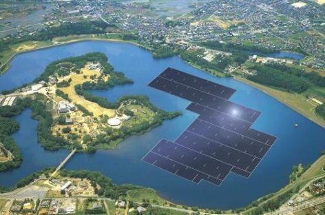 Công nghệ xanh đang lên ngôi với pin mặt trời nổi