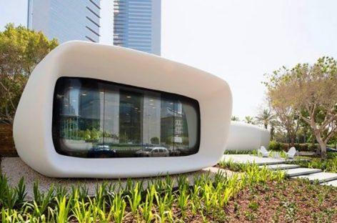 Văn phòng xây bằng công nghệ in 3D tại Dubai