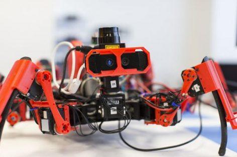 Siemens phát triển robot nhện in 3D phối hợp dây chuyền sản xuất