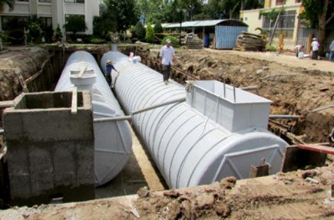 Ứng dụng công nghệ composite vào xử lý nước thải