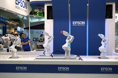 Epson tăng 20% doanh số robot công nghiệp bán ra thị trường