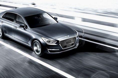 Hyundai Genesis quyết đấu xe Đức bằng công nghệ