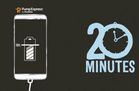 [Video] Công nghệ sạc nhanh của MediaTek Pump Express 3.0