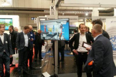 [Tiêu điểm tại Hannover Messe 2017] Công nghệ mô phỏng và công nghệ thực tế ảo