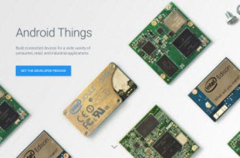 [Tiêu điểm tại CeBIT 2017] Google ra mắt hệ điều hành Android Things dành riêng cho các thiết bị IoT