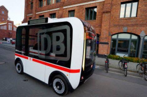 [Tiêu điểm tại CeBIT 2017] Deutsche Bahn chạy thử nghiệm xe buýt tự lái Olli tại CHLB Đức