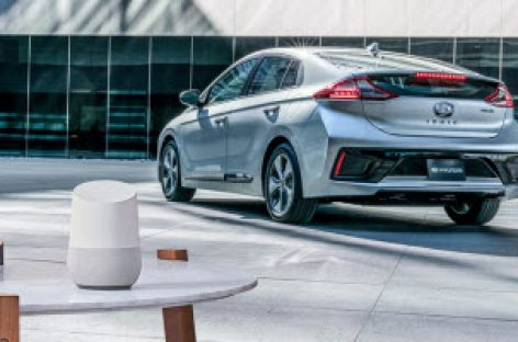Điều khiển xe Hyundai từ xa thông qua Google Home