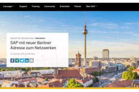 [Tiêu điểm tại CeBIT 2017] Tòa nhà Data Space của SAP tại Berlin