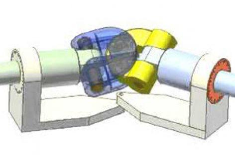 [Mô phỏng cơ cấu cơ khí] Khớp trục vạn năng 1