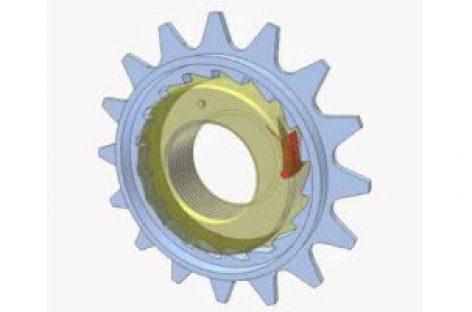 [Mô phỏng cơ cấu cơ khí] Líp xe đạp 5