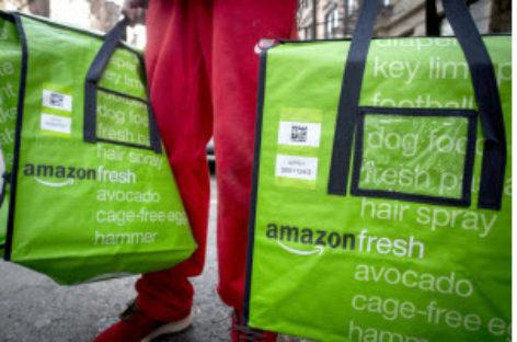 Amazon và những dịch vụ thực phẩm trực tuyến – Sẽ sớm chấp nhận sử dụng phiếu thực phẩm