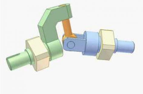 [Mô phỏng cơ cấu cơ khí] Cơ cấu cầu 4R 2a