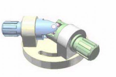 [Mô phỏng cơ cấu cơ khí] Khớp trục vạn năng Các đăng 1