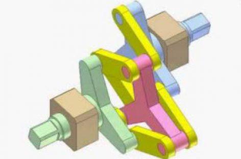 [Mô phỏng cơ cấu cơ khí] Khớp trục Schmidt