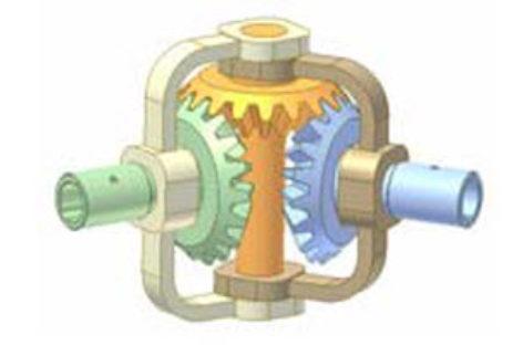 [Mô phỏng cơ cấu cơ khí] Khớp trục bánh răng côn 1