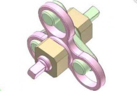 [Mô phỏng cơ cấu cơ khí] Khớp trục chốt 2