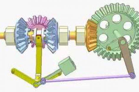 [Mô phỏng cơ cấu cơ khí] Ly hợp côn đảo chiều tự động 2