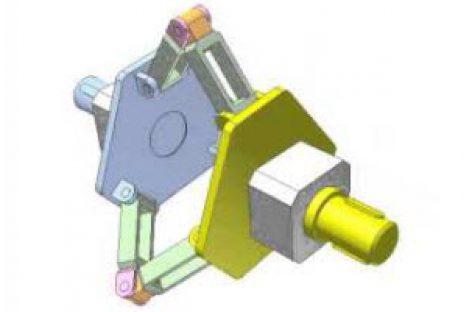[Mô phỏng cơ cấu cơ khí] Truyền chuyển động quay bằng khớp Canfield