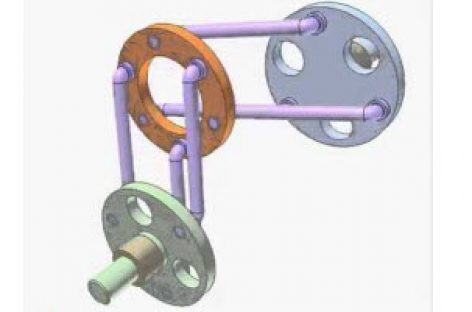 [Mô phỏng cơ cấu cơ khí] Ứng dụng của cơ cấu bình hành 3