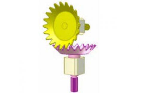 [Mô phỏng cơ cấu cơ khí] Bánh răng từ thép tấm 3
