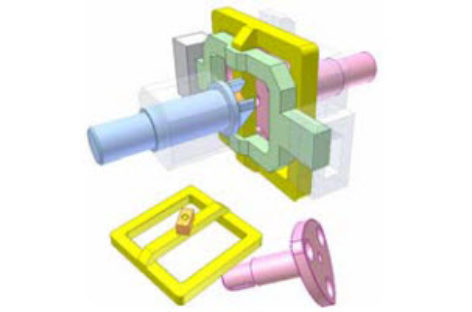 [Mô phỏng cơ cấu cơ khí] Biến tốc bằng đa giác Rơlô 1b