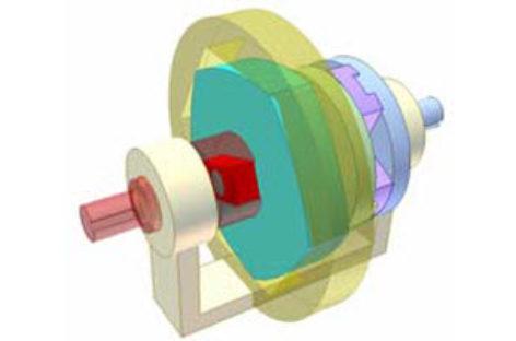 [Mô phỏng cơ cấu cơ khí] Biến tốc bằng đa giác Rơlô 2