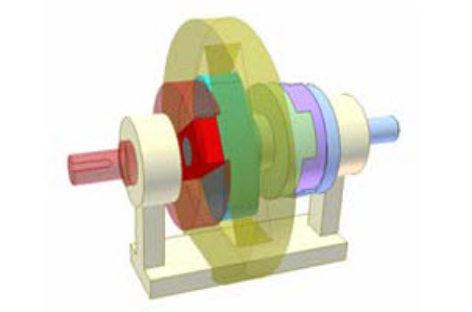 [Mô phỏng cơ cấu cơ khí] Biến tốc bằng đa giác Rơlô 3