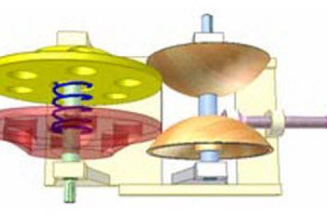 [Mô phỏng cơ cấu cơ khí] Bộ điều tốc cầu ma sát 5