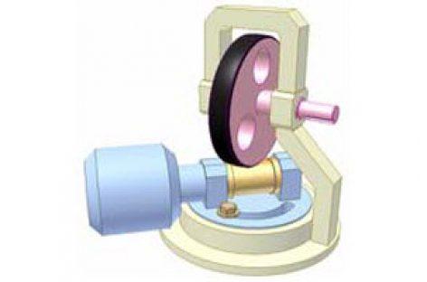 [Mô phỏng cơ cấu cơ khí] Bộ điều tốc con lăn ma sát 1