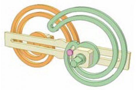[Mô phỏng cơ cấu cơ khí] Bộ truyền Acsimet 2b