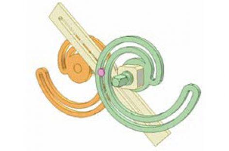 [Mô phỏng cơ cấu cơ khí] Bộ truyền Acsimet 2c