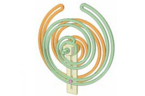 [Mô phỏng cơ cấu cơ khí] Bộ truyền Acsimet 3a