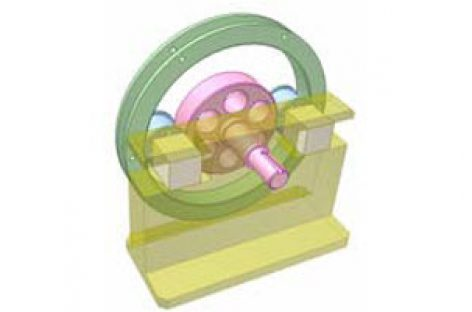 [Mô phỏng cơ cấu cơ khí] Bộ truyền bánh ma sát 5