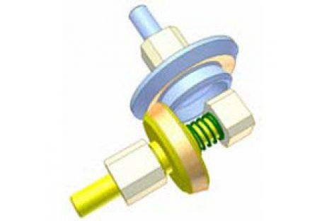 [Mô phỏng cơ cấu cơ khí] Bộ truyền bánh ma sát côn 2