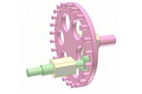 [Mô phỏng cơ cấu cơ khí] Bộ truyền bánh răng chốt 1H2