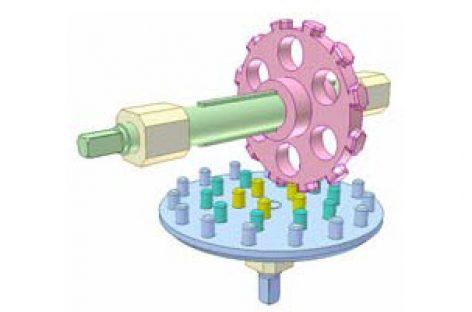 [Mô phỏng cơ cấu cơ khí] Bộ truyền bánh răng chốt 5
