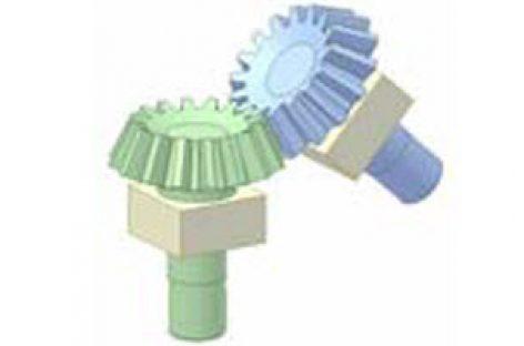 [Mô phỏng cơ cấu cơ khí] Bộ truyền bánh răng côn 1