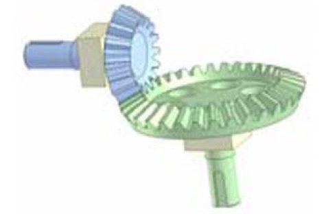 [Mô phỏng cơ cấu cơ khí] Bộ truyền bánh răng côn 2