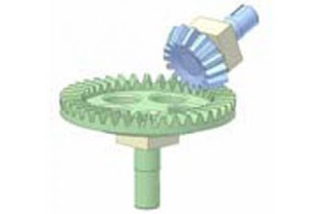 [Mô phỏng cơ cấu cơ khí] Bộ truyền bánh răng côn 3