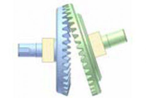 [Mô phỏng cơ cấu cơ khí] Bộ truyền bánh răng côn 4