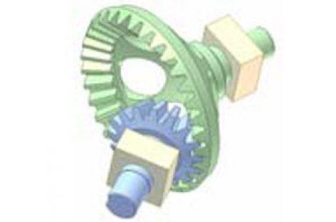 [Mô phỏng cơ cấu cơ khí] Bộ truyền bánh răng côn 5