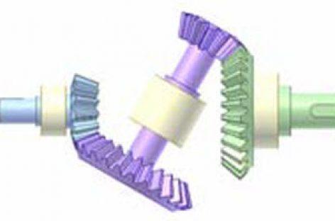 [Mô phỏng cơ cấu cơ khí] Bộ truyền kép bánh răng côn đồng trục 6