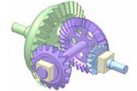 [Mô phỏng cơ cấu cơ khí] Bộ truyền kép bánh răng côn đồng trục 7