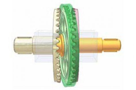 [Mô phỏng cơ cấu cơ khí] Bộ truyền chốt bánh răng quay đảo 2