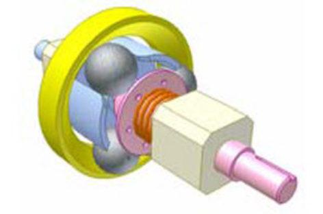 [Mô phỏng cơ cấu cơ khí] Bộ truyền ma sát bi 1