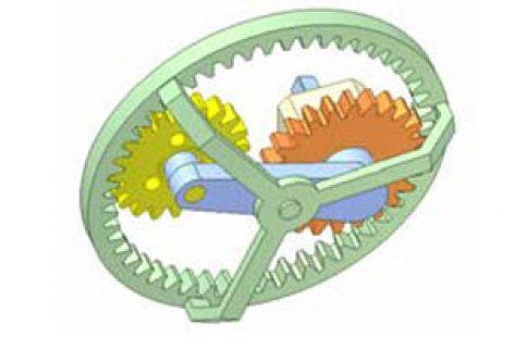 [Mô phỏng cơ cấu cơ khí] Cơ cấu hành tinh 3 bánh răng C