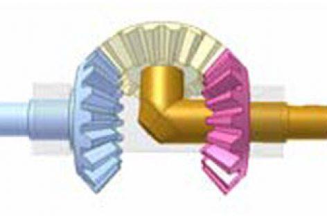 [Mô phỏng cơ cấu cơ khí] Giảm tốc bằng các bánh răng có cùng số răng 2